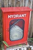 Caixa da boca de incêndio de incêndio Imagem de Stock Royalty Free