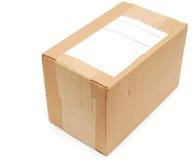 Caixa da caixa Imagem de Stock