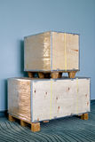 Caixa da carga Imagem de Stock