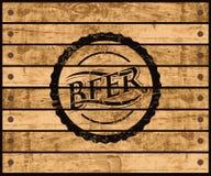 Caixa da cerveja Imagem de Stock