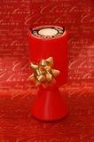 Caixa da coleção da doação da caridade do Natal Imagem de Stock