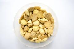 Caixa da cookie Imagens de Stock Royalty Free