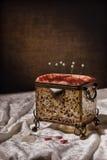 Caixa da costura Imagens de Stock Royalty Free