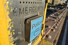 Caixa da emergência Foto de Stock