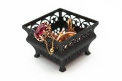 Caixa da jóia Imagens de Stock Royalty Free