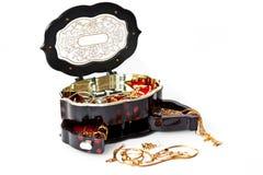 Caixa da jóia Fotografia de Stock Royalty Free