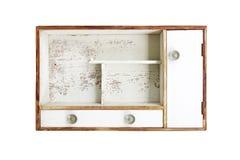 Caixa da madeira do vintage Fotografia de Stock