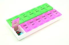 Caixa da medicina Imagens de Stock Royalty Free