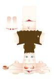 Caixa da menina Fotos de Stock