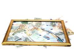 Caixa da moeda Foto de Stock Royalty Free