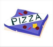 Caixa da pizza Fotografia de Stock Royalty Free