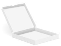 Caixa da pizza aberta Foto de Stock