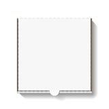Caixa da pizza do cartão Foto de Stock