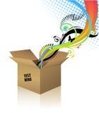 Caixa da surpresa Foto de Stock