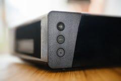 Caixa da tevê do modem do Internet fornecida pela empresa do provedor de Internet Fotografia de Stock Royalty Free