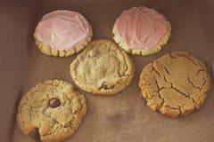 Caixa das cookies Fotos de Stock
