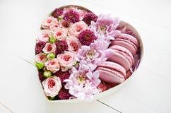 Caixa das flores foto de stock royalty free