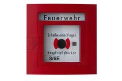 Caixa de alarme de incêndio Imagens de Stock Royalty Free
