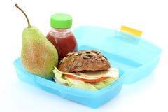 Caixa de almoço Fotografia de Stock