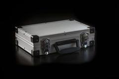 Caixa de alumínio da caixa do metal foto de stock