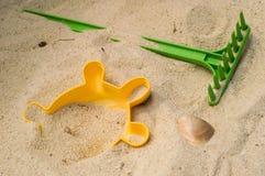 Caixa de areia Foto de Stock