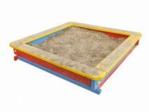 A caixa de areia das crianças Fotografia de Stock Royalty Free