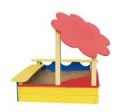 Caixa de areia Fotografia de Stock