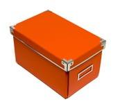 Caixa de armazenamento Imagem de Stock Royalty Free