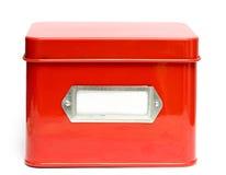 Caixa de armazenamento Fotos de Stock