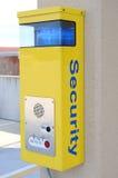 Caixa de atendimento da segurança Foto de Stock Royalty Free