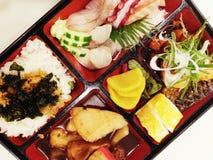 Caixa de Bento do japonês Fotos de Stock Royalty Free
