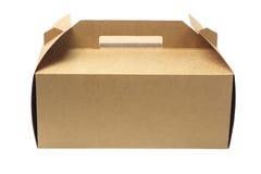 Caixa de bolo foto de stock