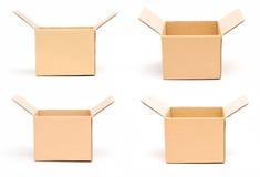 Caixa de cartão Fotos de Stock