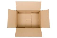 Caixa de cartão Foto de Stock