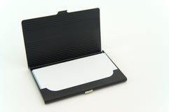Caixa de cartão de Bussiness Imagem de Stock