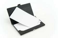 Caixa de cartão de Bussiness Fotografia de Stock
