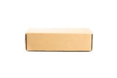 caixa de cartão isolada Foto de Stock Royalty Free