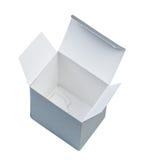 Caixa de cartão vazia. fotos de stock
