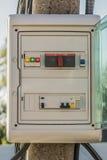 Caixa de controle elétrica Imagem de Stock Royalty Free