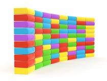 Caixa de cor Foto de Stock