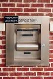 Caixa de depósito da noite Foto de Stock Royalty Free