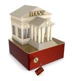 Caixa de depósito seguro Imagens de Stock