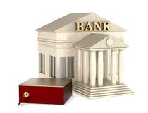 Caixa de depósito seguro Imagem de Stock