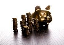 Caixa de dinheiro Foto de Stock