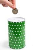 Caixa de dinheiro velho Fotografia de Stock Royalty Free