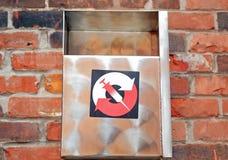 Caixa de eliminação da agulha, Montreal, Canadá Fotos de Stock Royalty Free