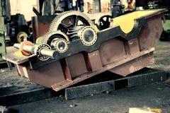 Caixa de engrenagens industrial fotos de stock