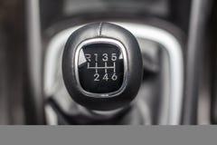 Caixa de engrenagens manual da seis-velocidade da alavanca Foto de Stock