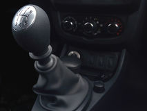 Caixa de engrenagens manual da seis-velocidade da alavanca Foto de Stock Royalty Free