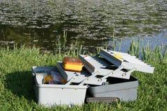 Caixa de equipamento imagens de stock